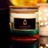 Unscented Decorative Double Wax Candle (Soy & Gel Wax)