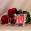 Royal Rose Crystal Jar Candle (Soy Wax)