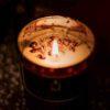 Tea Rose Aroma Radiance Candle (Added Rose Petals)