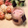 Tea Rose Jar Candle (Soy Wax) | Premium With Rose Petals