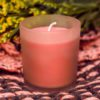 White Rime Candle Lavender Essence